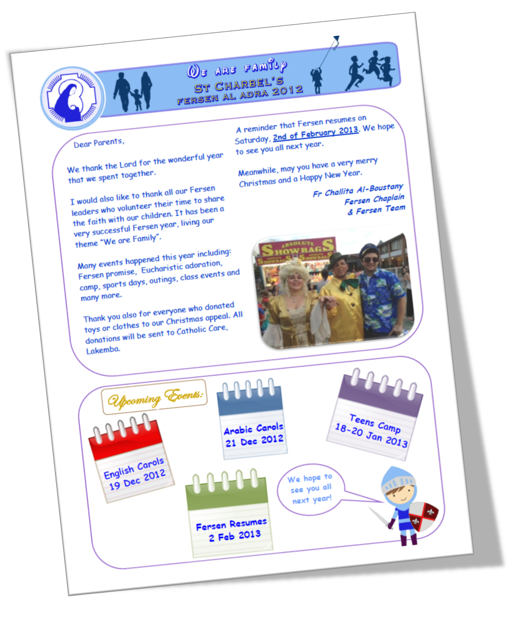Fersen Newsletter